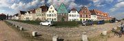 Segeln auf der Elbe mit Familienbesuch aus Bayern